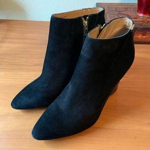 Calvin Klein Booties Wedge Heel 10